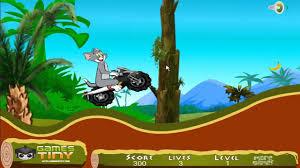 tom jerry downhill tom jerry cartoon games cartoon