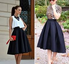 knee length skirt empire waist black satin ruched skirts high low knee length women