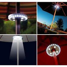 patio umbrella lights ebay