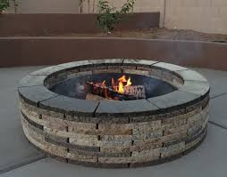 Fire Pit Ring With Grill by Fire Pit Better Outdoor Fire Pit Ring Kits Outdoor Fire Pit Ring