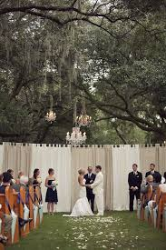 wedding backdrop garland 37 gorgeous ideas for ceremony backdrops