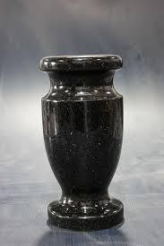 tombstone prices black galaxy granite monument vase cemetery tombstone