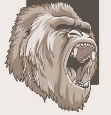 sketch monkey illustration vector ai svg eps vector free download