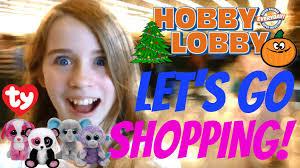 u0027s shopping vlog craft hunting hobby lobby beanie boos