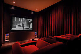 home movie theater screen interior luxurious home theater room desgin with high carving