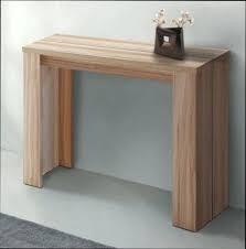 table console cuisine table console extensible bois brut page cuisine socialfuzz me