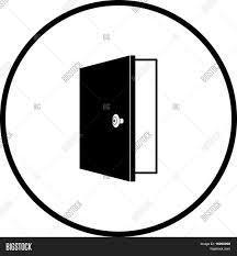 door symbol u0026 automatic door icon emergency exit with human