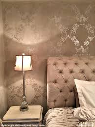 large wall stencils vintage flower stencils for diy wallpaper