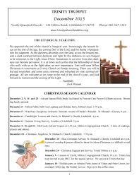 trinity episcopal church parish news