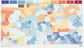 Interactive Map Of The World Interactive Map Highlights Water Districts With Conditions For