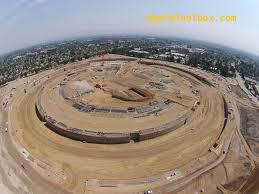 latest aerial pics of apple u0027s spaceship campus 2 photos iphone