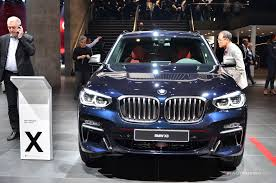 2018 bmw x3 iaa frankfurt 2017 18 images the 2018 bmw x3 has