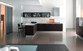 kitchen design modern with l shape cabinet breakfast bar