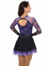 jerry u0027s purple cascade lace dress