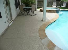 Concrete Patio Houston Spray Deck Patio Houston