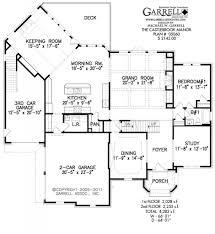floor plan castlebrook manor house plan house plans by garrell