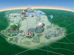 Disney World Google Map by Map Of Walt Disney World Resort Wdwinfo Com