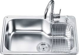 sink faucet design top mount single kitchen sinks with drainboard