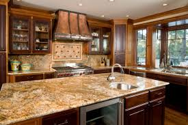 galley kitchen remodel ideas brown varnish wooden dining table