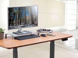 aluminum monitor riser multimedia stand monoprice com