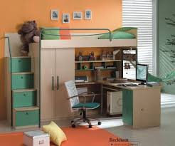 Twin Size Loft Bed With Desk by Graceful Bed Plus Storage Will Beautify Kids Days Kids And Twin