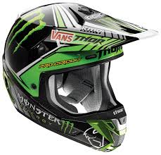 monster energy motocross jersey thor verge pro circuit monster energy helmet revzilla