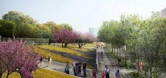 Park West Landscape by West 8 Urban Design U0026 Landscape Architecture Press Releases