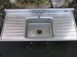 SOLDAntique Kitchen Sinks - Steel queen kitchen sinks