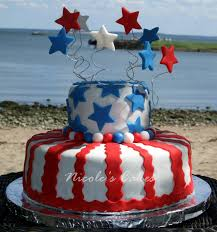 4th of july cake 4th of july cakes pinterest cake white