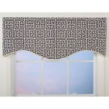 greek key pattern m shaped valance free shipping on orders over