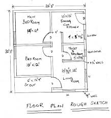 How To Make A House Floor Plan 14 Autocad How To Draw A Basic Architectural Floor Plan From