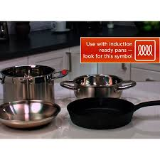 Portable Induction Cooktop Walmart Oster Personal Induction Cooktop 1 0 Ct Walmart Com