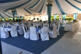 90 outstanding silver and royal blue wedding decorations image
