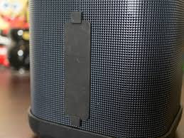 big blue party the brookstone big blue party speaker lives up to the name and has