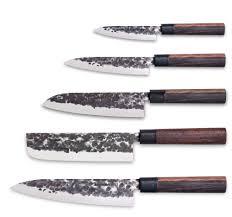 couteaux de cuisine set 5 couteaux osaka 3 claveles design japonais
