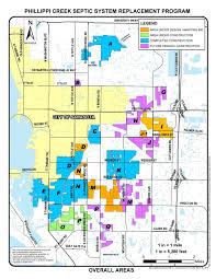 Map Of Venice Florida Phillippi Creek Septic System Replacement Program Sarasota
