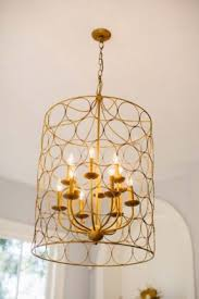 wire basket chandelier foter