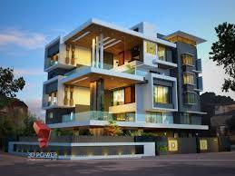 Home Exterior Design Delhi 3d Animation 3d Rendering 3d Walkthrough 3d Interior Cut
