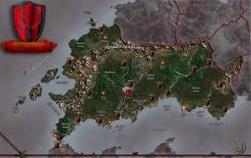 Pathfinder World Map by Cheliax Map By Markonphoenix On Deviantart