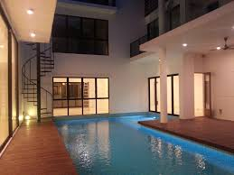 3 storey detached house with swimming pool u0026 roof garden in eco