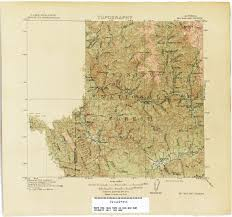 Big Sur Map California Topographic Maps Perry Castañeda Map Collection Ut