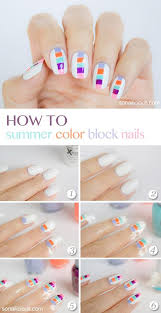 best 25 color block nails ideas on pinterest pastel nail art