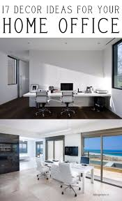 decor ideas for your home office