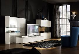 Home Center Decor Small Bedroom Decorating Ideas Black And White Decoration Cool