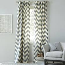 cotton canvas zigzag curtain u2013 feather grey divine drapery