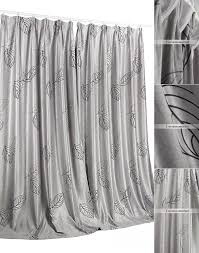 Silver Window Curtains Pattern Eco Friendly Silver Window Curtains