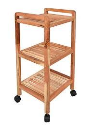 rollregal küche roll regal standregal mit rollen höhe 77 cm aus walnuss massivholz
