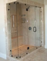 frameless glass shower doors over tub frameless glass shower and tub enclosures