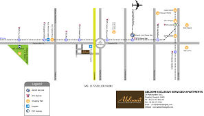 Bangkok Location In World Map by Abloom Exclusive Serviced Apartments Hotel Sanam Pao Bangkok