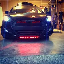hyundai elantra mods what do you guys think of the mod i did to the grille of my 2014